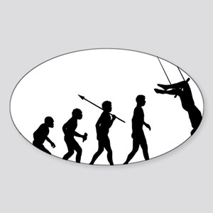 Trapeze Sticker (Oval)