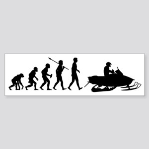 Snowmobile2 Sticker (Bumper)