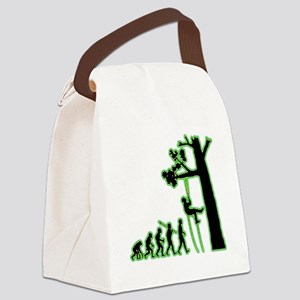 Tree-Climbing4 Canvas Lunch Bag