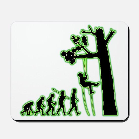 Tree-Climbing4 Mousepad