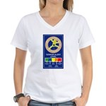Terroe Alert Women's V-Neck T-Shirt