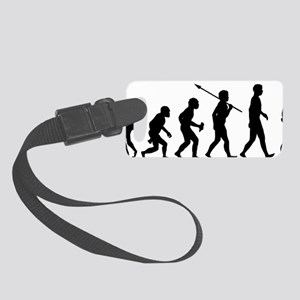 Unicycle-Rider Small Luggage Tag
