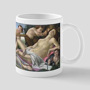 Venus and Mars - Botticelli 11 oz Ceramic Mug