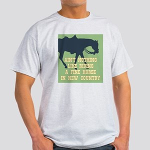 Fine Horse Quote Light T-Shirt