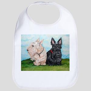 Scottish Terrier Companions Bib
