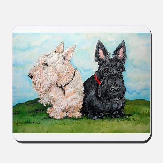 Scottish Terrier Companions Mousepad