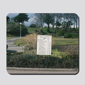 Dunoon Argyll Fingerpost Mousepad