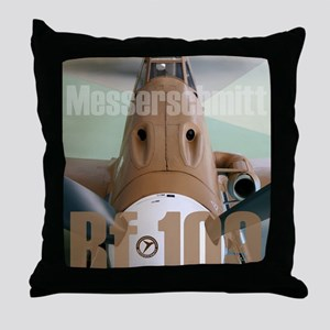 Bf 109 Throw Pillow