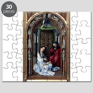 The Altar of Our Lady Left Panel - Rogier van der