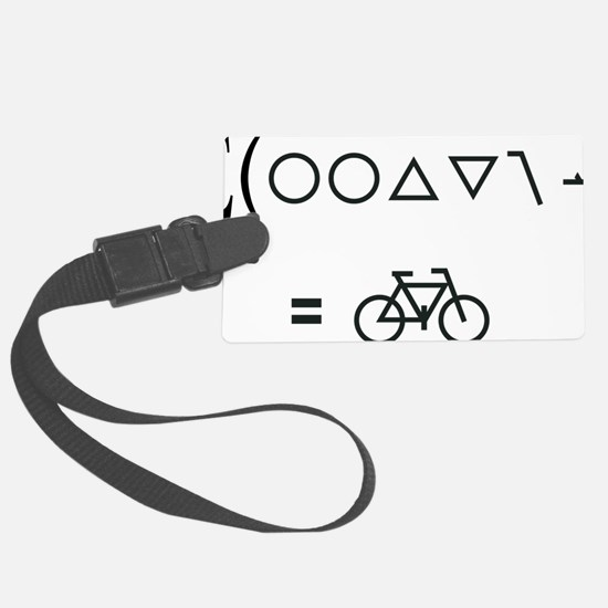 BikeMaths Luggage Tag