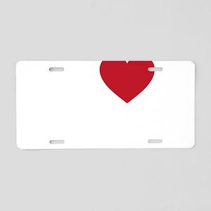 I Love Mesa Arizona Aluminum License Plate