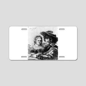 Rembrandt and his wife Saskia - Rembrandt - 1636 A