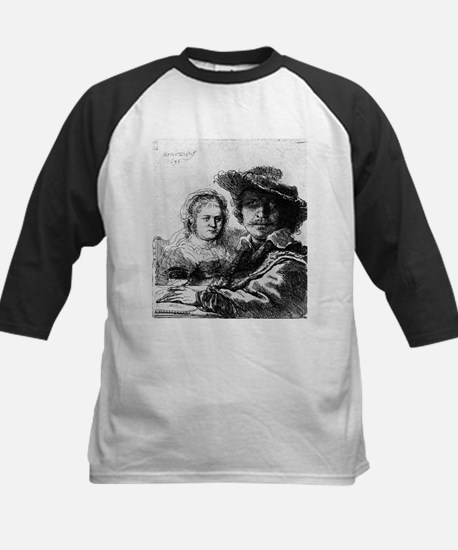 Rembrandt and his wife Saskia - Rembrandt - 1636 K
