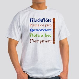 Multilingual Recorder Light T-Shirt