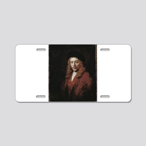 A Young man - Rembrandt - c1663 Aluminum License P