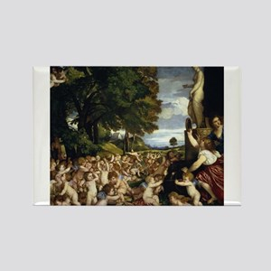 Worship of Venus - Titian - 1518 Magnets
