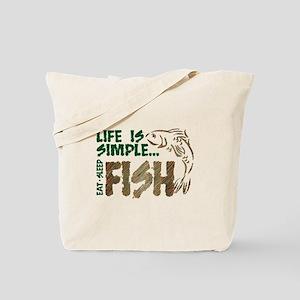 Life Is Simple...FISH Tote Bag