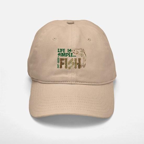 Life Is Simple...FISH Baseball Baseball Cap