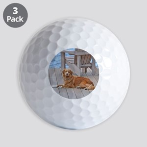nova scotia duck tolling retriever Golf Balls