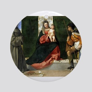 The Virgin and Child between Saint Anthony of Padu