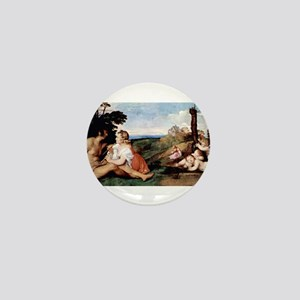 The Three Ages of Man - Titian - c1512 Mini Button