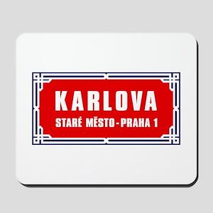Karlova, Prague (CZ) Mousepad