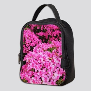 Azaleas blooming Neoprene Lunch Bag