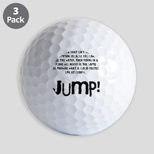 Taste the clouds Golf Balls
