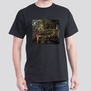 The Death of Actaeon - Titian T-Shirt