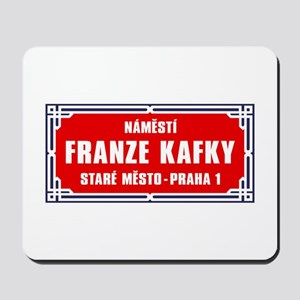 Námestí Franze Kafky, Prague (CZ) Mousepad