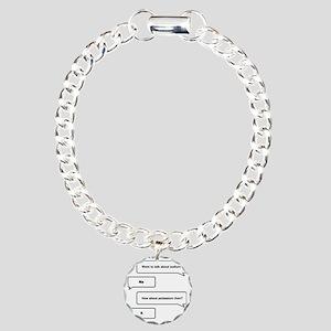 Want to talk about chemi Charm Bracelet, One Charm