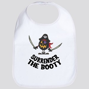 Surrender the Booty Baby Bib