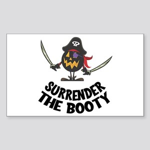 Surrender the Booty Sticker
