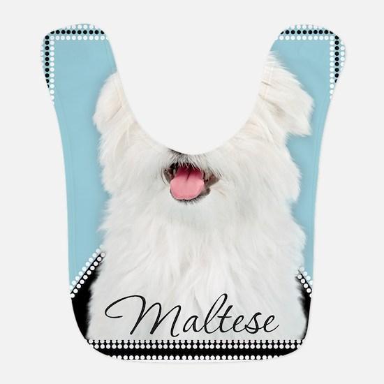 Cute Maltese Bib