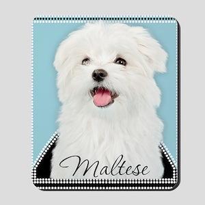 Cute Maltese Mousepad