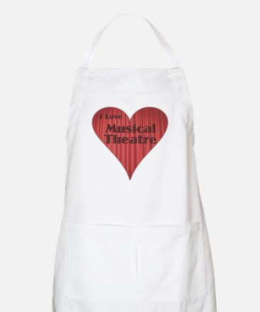 I Love Musical Theatre BBQ Apron