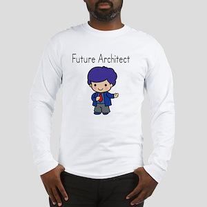 Boy Future Architect Long Sleeve T-Shirt
