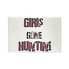 Women Hunting & Fishing produ Rectangle Magnet (10