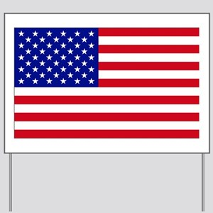 Giant USA Flag Independence Day Yard Sign