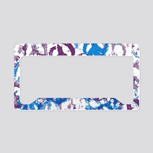 laptop skin cool tone peace s License Plate Holder