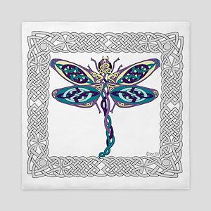 Dragonfly Shower Curtain Queen Duvet