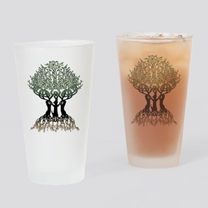 Tree of Life Shower Drinking Glass
