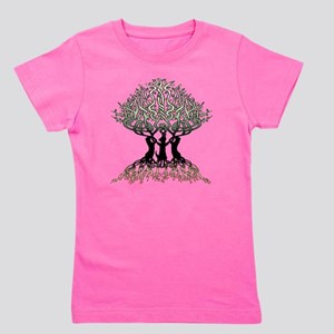 Tree of Life Shower Girl's Tee