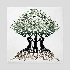 Tree of Life Shower Queen Duvet