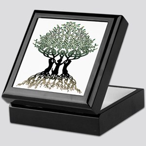 Tree of Life Shower Keepsake Box