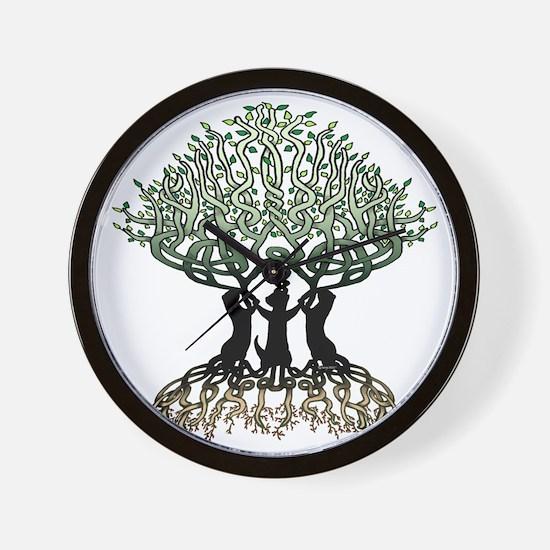 Tree of Life Shower Wall Clock