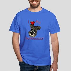 I love my Schnauzer Pup Dark T-Shirt