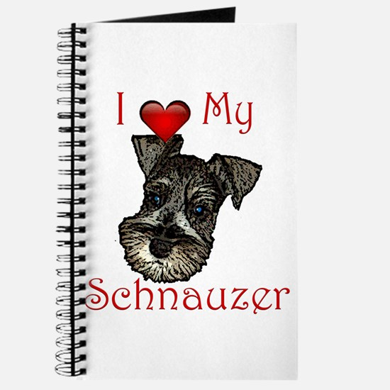 I love my Schnauzer Pup Journal