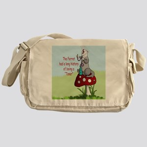 Toned Ferret Messenger Bag
