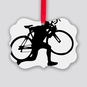 Cyclocross V1 Picture Ornament